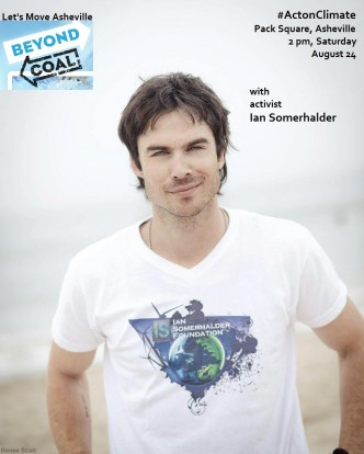 ian somerhalder and asheville