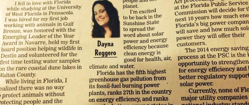 Dayna Reggero Guest Column